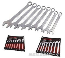8pc LARGE SPANNER SET by NEILSEN TOOLS 20 21 24 25 26 27 30 32mm Metric Wrench