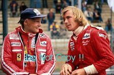 James Hunt & Niki Lauda F1 Portrait 1977 Photograph 2