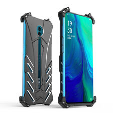 For OPPO Reno 10X ZOOM Batman Shockproof Metal Frame Mobile Phone Case Cover
