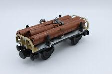LEGO City Eisenbahn- Holzwaggon / Güterwaggon -Bausatz NEU- aus Set 60198