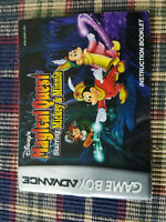 Disney's Magical Quest Mickey & Minnie - Nintendo Game Boy Advance - Manual Only