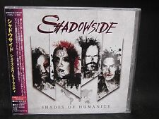 SHADOWSIDE Shades Of Humanity + 1 JAPAN CD Jorn Hammerfall Avalanch Brazil HM !