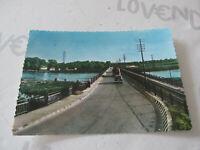 Carte Postale Période Vigevano Pont sur Le Ticino Shipped 1958