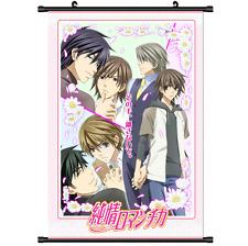 Yaoi Anime Sekai Ichi Hatsukoi Wall Poster Scroll cosplay 2744