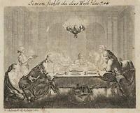 CHODOWIECKI (1726-1801). Die büssende Magdalena; Druckgraphik 1