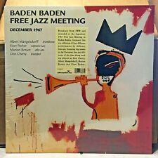 Don Cherry, Marion Brown, Evan Parker, Mangelsdorff 'Baden Free Jazz Meeting' LP