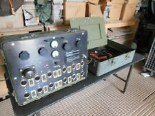 MILITARY SURPLUS BATTERY CHARGER DISTRIBUTION PANEL  24V WITH GENERATOR CABLE US