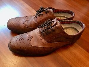 SOLE - OXFORD SHOE EU 42 UK 7 - BARELY USED - BROWN LEATHER