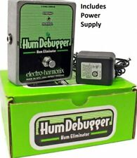 Electro Harmonix Hum Debugger Hum Eliminator Effect Pedal with Power Supply