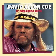 David Allan Coe - David Allan Coe 17 Greatest Hits [New CD]