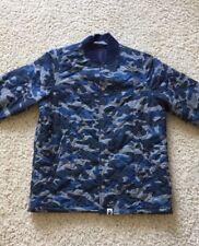 BAPE ABC BLUE CAMO JACKET A BATHING APE SIZE M shark shirt hat supreme shorts