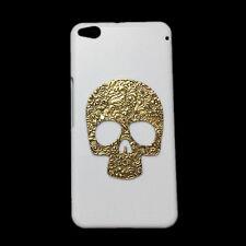 Fashion Retro Bronze Metal Skull Hard Back Skin Case Cover for HTC One X9/Me M9e
