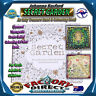 Kid Adult Secret Garden Inky Treasure Adult Coloring Book Licensed Therapy Stres