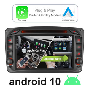 Android Car Stereo DVD CarPlay BT GPS Sat Nav For Mercedes Benz W203 W209 Vito