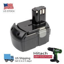 18Volt 4000MAh 4.0AH Lithium-Ion HXP Battery Pack for Hitachi BCL1815 EBM1830
