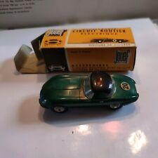 Jouer Circuit Routier Électrique Miniature Jaguar E Avec Hard Top Ref 352