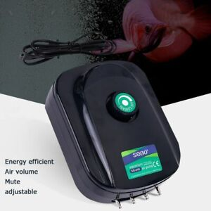 Pump Oxygen Air Fish Increasing Tank Aquarium Ultra-Silent Portable Increase