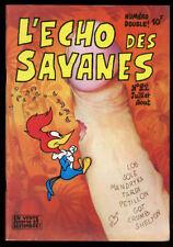 L'ECHO DES SAVANES 1ère SERIE N°22. Juillet-août 1976