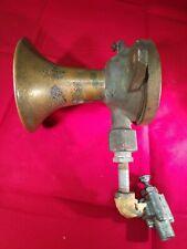 Vintage Doran-Cunningham Brass Air Whistle in working condition.