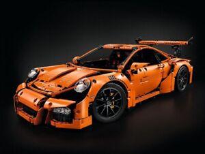 LEGO Technic Porsche 911 GT3 RS — 42056 —2704 pcs — 100% Complete