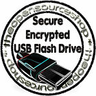 Secure Encrypted 128GB USB 3.0 Pen Drive Protect Data &Files