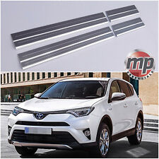 Lockwood Toyota Rav 4 2013> Stainless Steel Kick Plate Car Door Sill Protectors