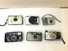 BUNDLE OF 6 OLDER STYLED CAMERAS - SPARES OR REPAIRS JOB LOT CLEAR OUT <A1