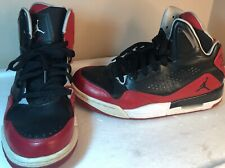 quality design 933ce be59c NIKE AIR Jordan SC-3 Flight Basketball Shoes Size 8 Gym Red Black 629877-