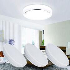 18W Round LED Ceiling Downlight Flush Mount Panel Lamp Bathroom Kitchen Daylight