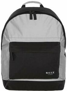 Nicce Curtis Black Reflective Backpack (NA15) RRP £34.99