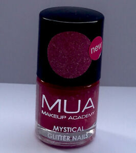 MUA Mystical Glitter Nails Nail Polish Pink Starfish