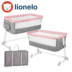 BABY CHILD KIDS BEDSIDE CRIB PORTABLE FOLDABLE TRAVEL COT THEO LIONELO MAGNOLIA