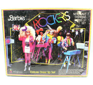 Barbie And The Rockers Colorforms Deluxe Dress Up Set, VTG 1986 (Factory Sealed)