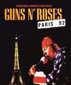Guns n Roses  With Special Guests Aerosmith & Lenny Kravitz - Paris 92  DVD