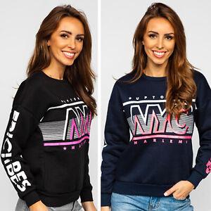 Sweatshirt Kapuzenpullover Pullover Hoodie Classic Aufdruck Damen BOLF Motiv