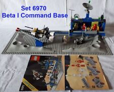 lego 6970 Lego Game Gioco LEGOLAND Space Classic Spazio 1980 Beta I Command Base