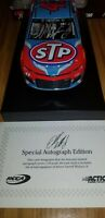 RARE Bubba Wallace Autographed 2018 STP 1:24 Flashcoat Color Nascar Dieca 1OF 48