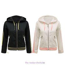 Women's Casual Cotton Biker Zip Coats & Jackets