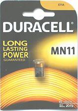 Duracell MN11 6-Volt Alkaline Batteries E11a