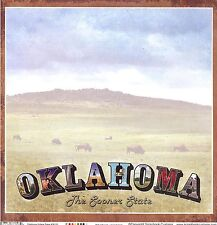 Scrapbook Customs - Oklahoma Scrapbooking Paper - 36153