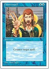 Counterspell MTG 4th Edition Common Blue EDH SP