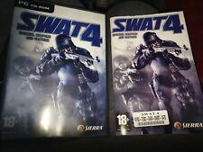SWAT 4 PC CD ROM Video Game 18+ Sierra Police Shooting
