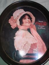 """BETTY"" Coca Cola Oval Tip Tray in excellent condition"
