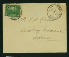 Haiti 1923 Cover Port au Prince Local franked solo Scott 311