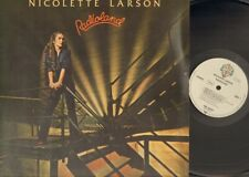 NICOLETTE LARSON Radioland LP 1980 Related LITTLE FEAT