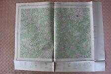 Carte de France 1/25000 Lamastre n° 7-8. Institut Géographique National. 1957