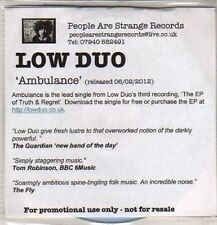 (DB433) Low Duo, Ambulance - DJ CD