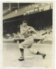 Original 1938 JOE CRONIN Boston Red Sox Slugger Swinging News Photograph