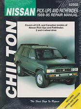 1989-1995 Chilton Nissan Pick-Ups & Pathfinder Repair Manual