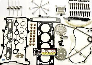 2.2 Z22YH Head rebuild kit head gasket set valves,Chain kit,fits vauxhall vectra